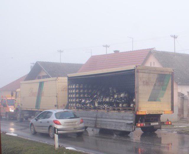 Strange Truck Accident 12