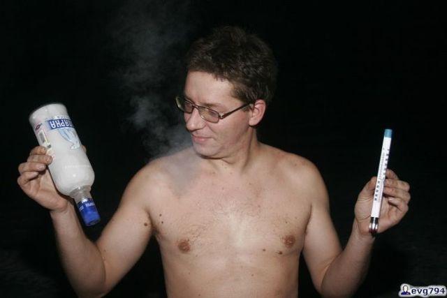 An ice-scream from alcohol (6 photos)
