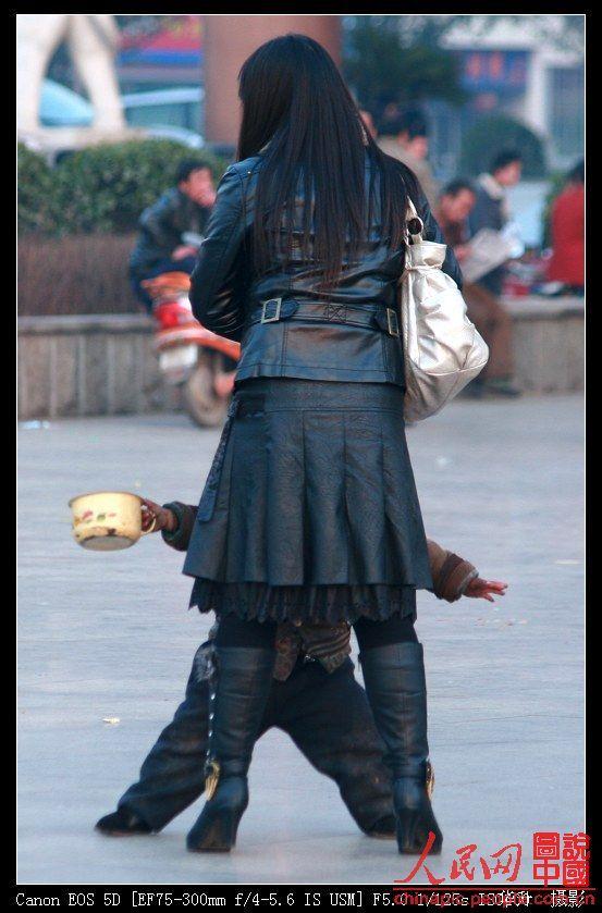 A small Chinese beggar (14 photos)