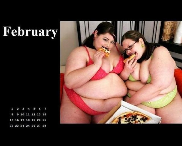 The fastfood network presents their Calendar for 2009 (13 pics)