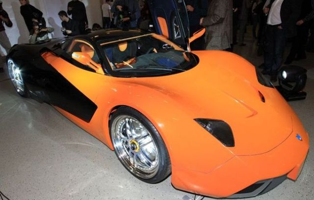 "Another Russian ""super-car"" Marussia (16 pics)"