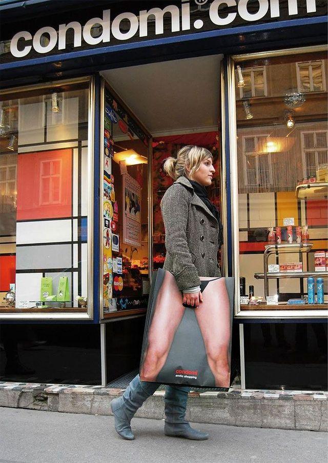 Sex shop bags (4 photos)