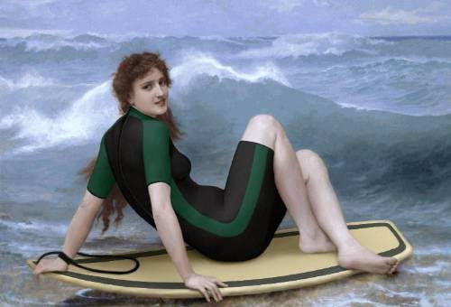 20 pinturas y esculturas que fueron editadas para el humor!
