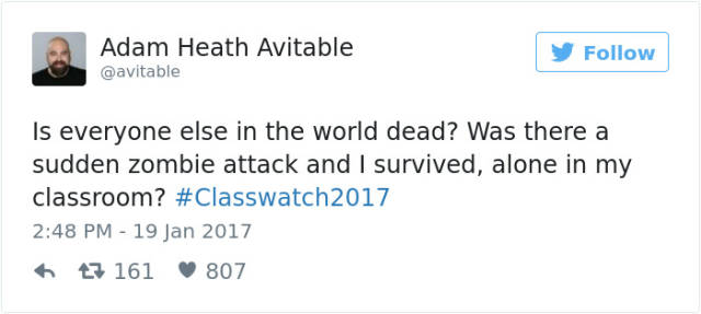 A Heartbreaking Twitter Story Of A Professor Who Was Just Trying To Teach His Class