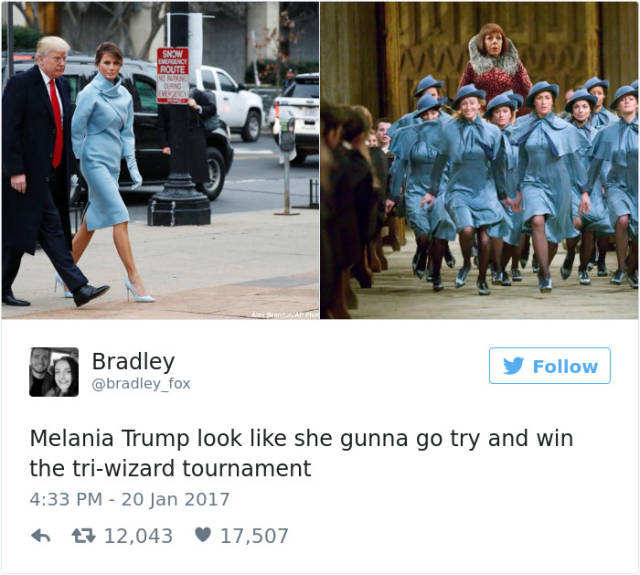 Donald Trump's Inauguration Didn't Have A Chance Not To Inspire All Those Troll Tweets