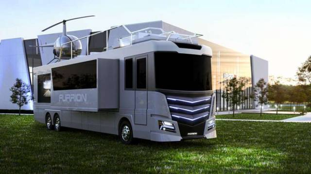 "Now This Is A Real Billionaire Version Of ""House On Wheels"""