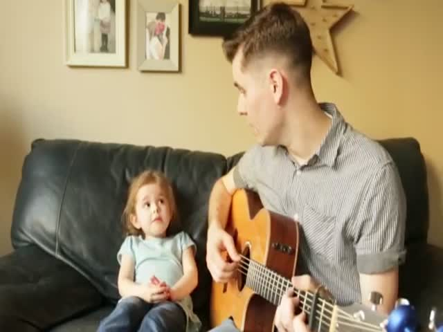 The Cutest Duo Of The Internet – A 4-Year-Old Rising Star And Her Dad