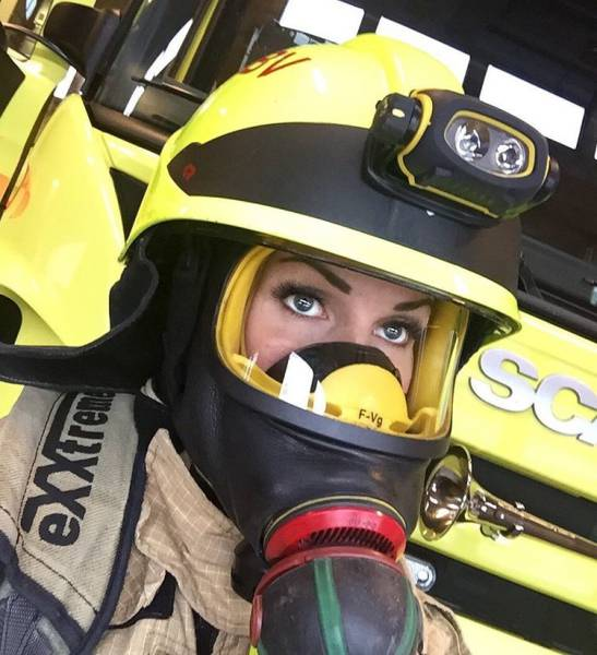 Norwegian Men Might Set Their Homes At Fire After Seeing This Awesome Firefighter