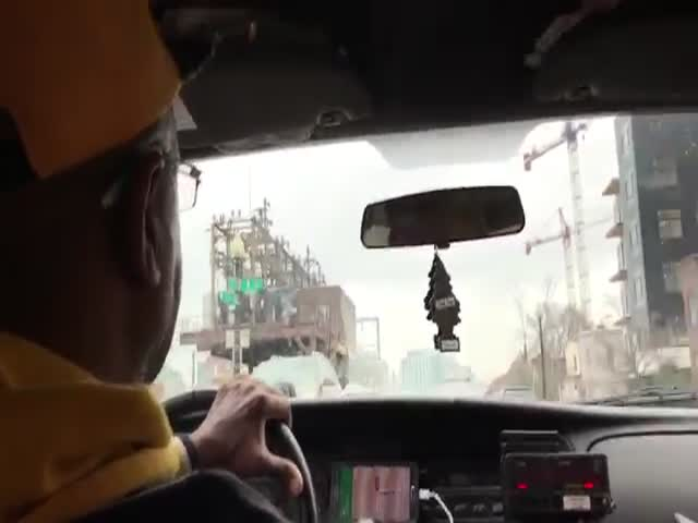 The Cab Driver Was Glorifying His Idol, John Elway, Not Even Knowing John Was In The Car