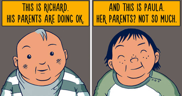 Sad Story Comic About What It Really Means To Be Privileged