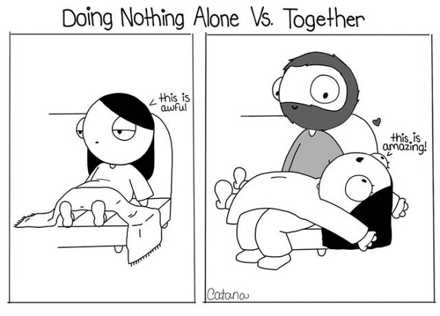 These Catana Comics Reveal The Bitter Truth About Sweet Relationships