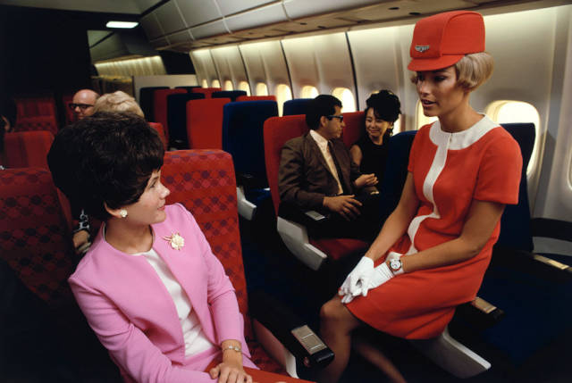 Air Traveling Didn't Always Look The Way We Know It Nowadays