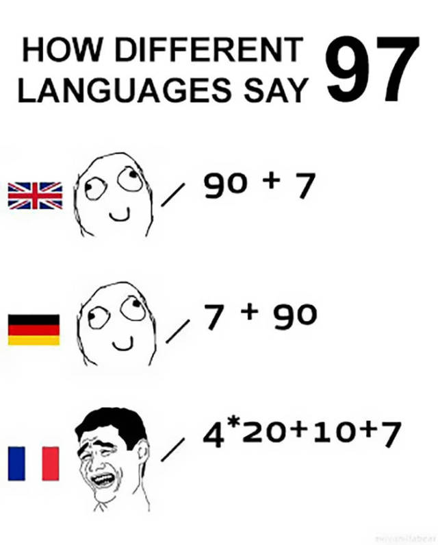 French Speakers Know How To Make Their Lives Harder