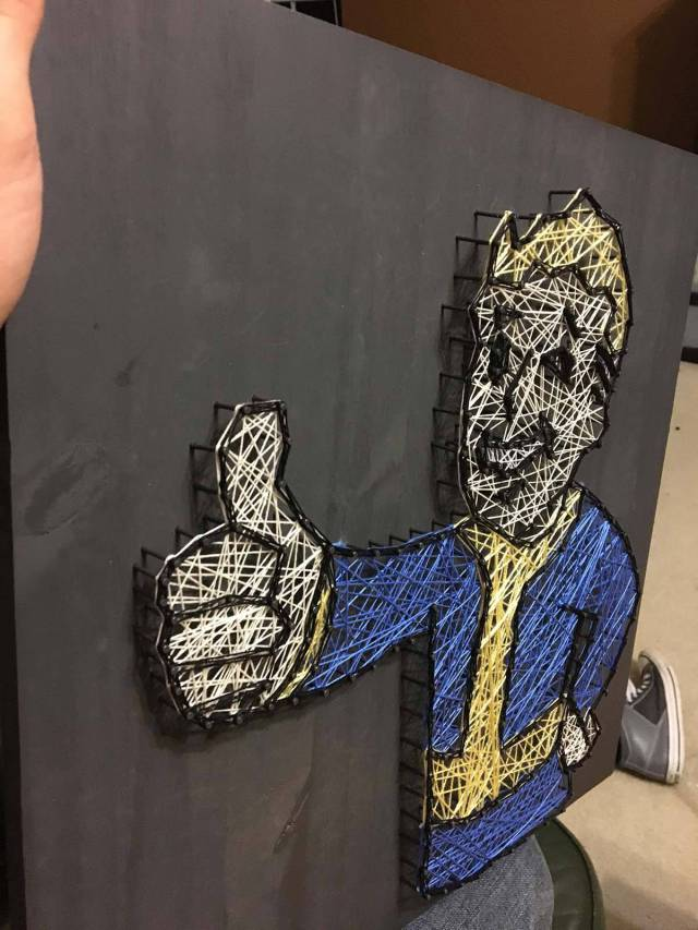 That Vault Boy Nail Board Is Purely Awesome!