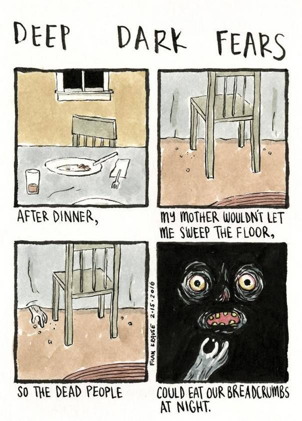 Embrace Your Deepest Fears Brought To You By These Dark Comics