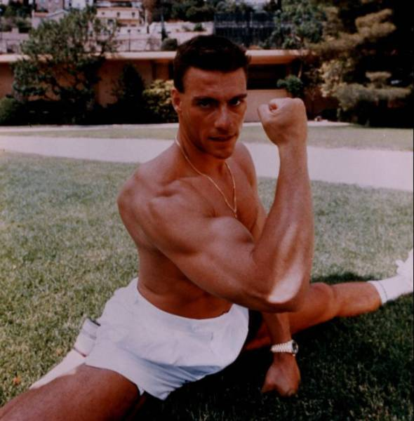 Jean-Claude Van Damme Back When He Was At The Zenith Of His Glory