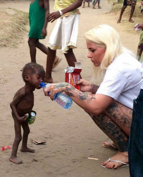 """The Famous Nigerian """"Witch"""" Kid Saved Last Year Is Fully Recovered And Is Going To School Now"""