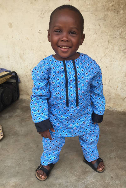 "The Famous Nigerian ""Witch"" Kid Saved Last Year Is Fully Recovered And Is Going To School Now"