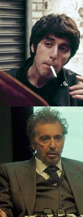 Famous Actors Then and Now