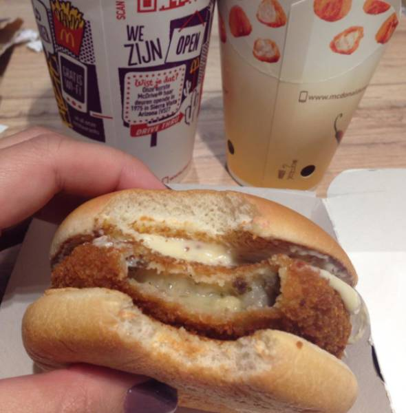 Some Very Strange Things You Can Find In McDonalds Around The World