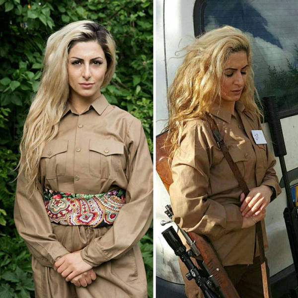 Military Girl From Denmark Is Wanted For Killing 100 ISIS Soldiers, Though Still Being A Student