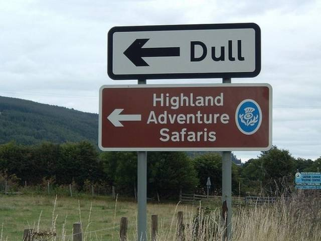 Scottish Highlands Is Home For Some Really Insane Sh#t
