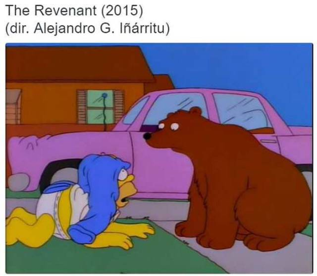 Simpsons Prove Themselves Over And Over To Be The Best At Copying Famous Movies