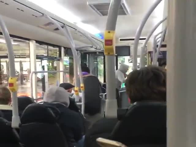 One Does Not Simply Spit On This Bus Driver