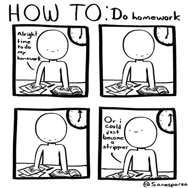 If You Don't Know What To Do And How To Do It – Check These Comics