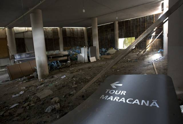Brazilian Olympic Park Crumbles To Dust Just 6 Months After The Olympic Games