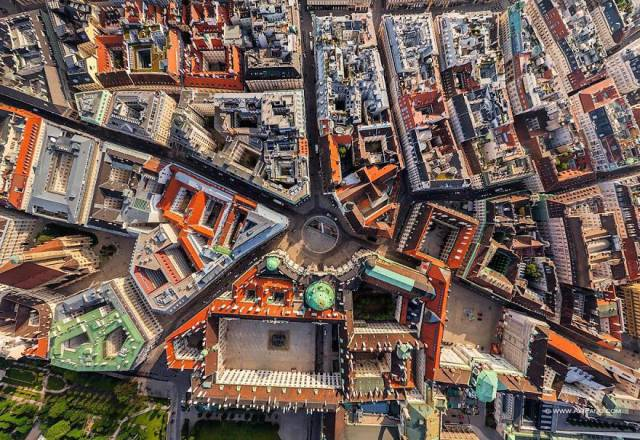 If Only Humans Could Fly – They Would See Their Cities In This Amazing Way