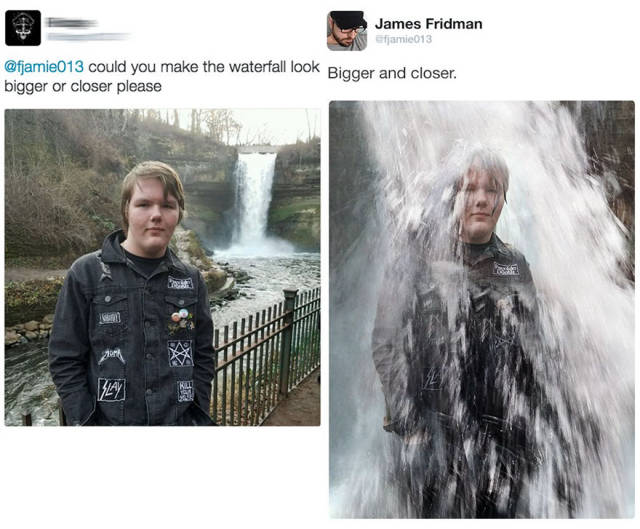 James Fridman Destroys Some More Narcissists With His Photoshop Wonders