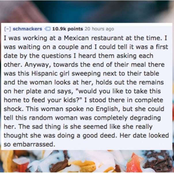 When The Date Can't Go Any Worse