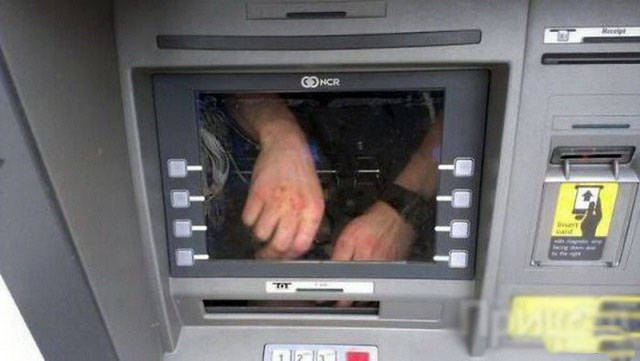 ATMs At Their Strangest…