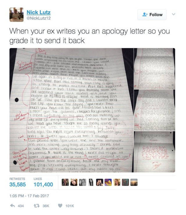 The Guy Obviously Didn't Want To Return To His Ex…