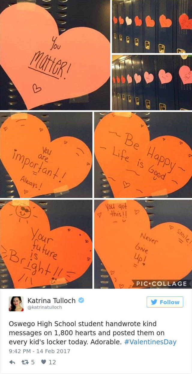 The Love Is Being Spread All Around On Valentine's Day
