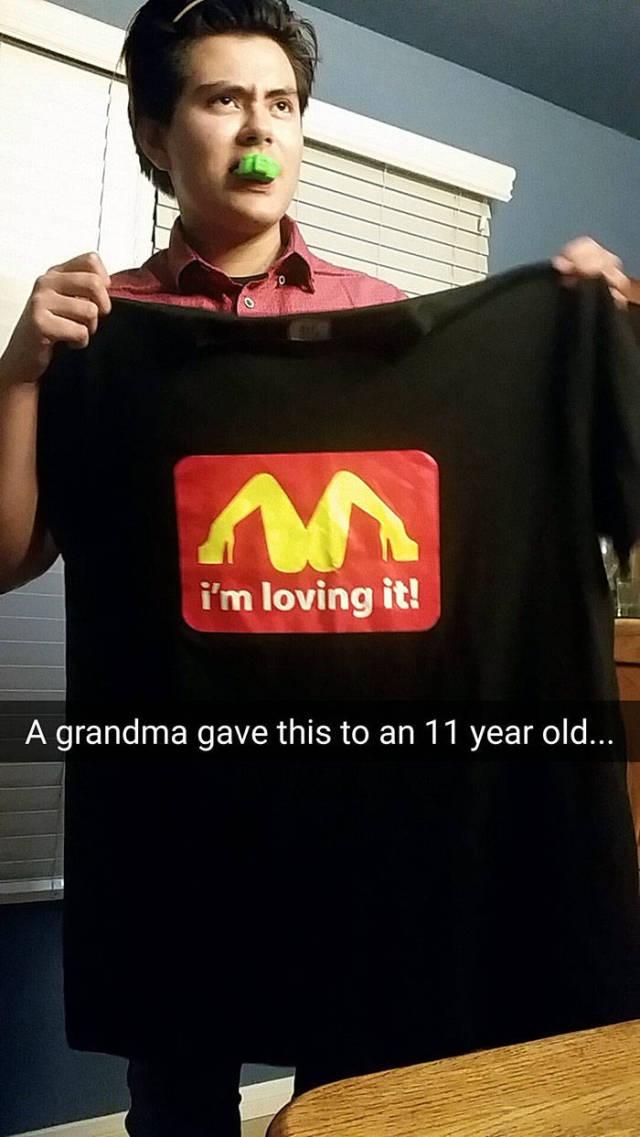 Why, Grandma, Oh Why?!