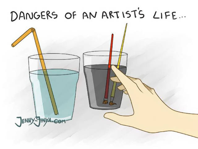 The Hard Art Of Being An Artist