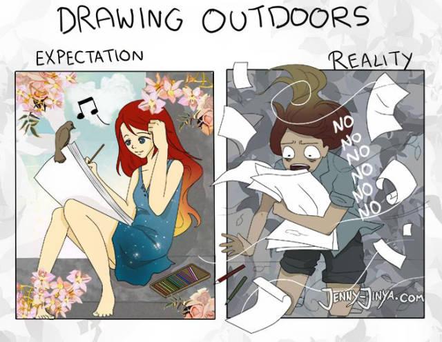 The Hard Art Of Being An Artist
