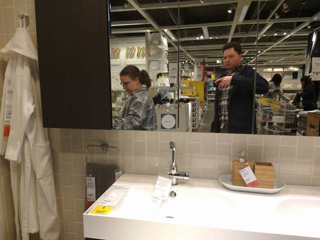 IKEA Is Much More Of A Challenge If You Are Being Led By Your Wife