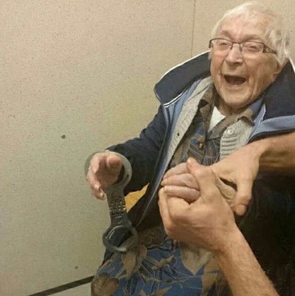 99 Years Of Life Couldn't Hold Her From Getting To Jail