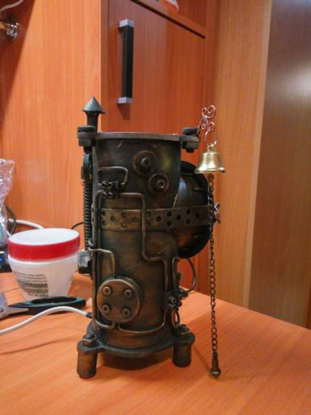 When You're So Steampunk That Even Your Nightlight Goes Steampunk