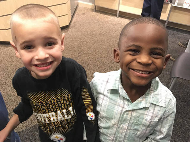 These Little Guys Were Convinced That Their Only Difference Was Their Haircuts…