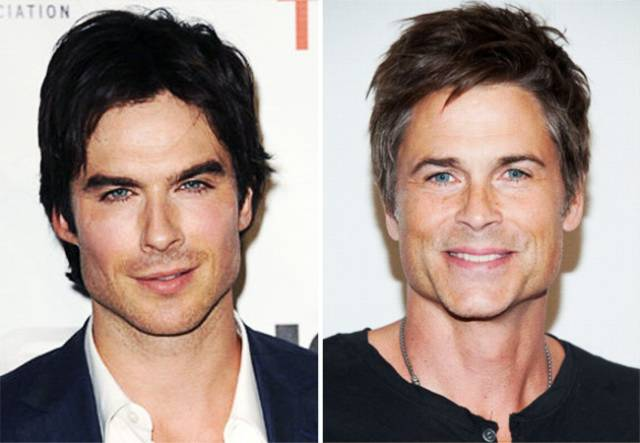 Actors Have Doppelgangers Even Amongst Other Actors!