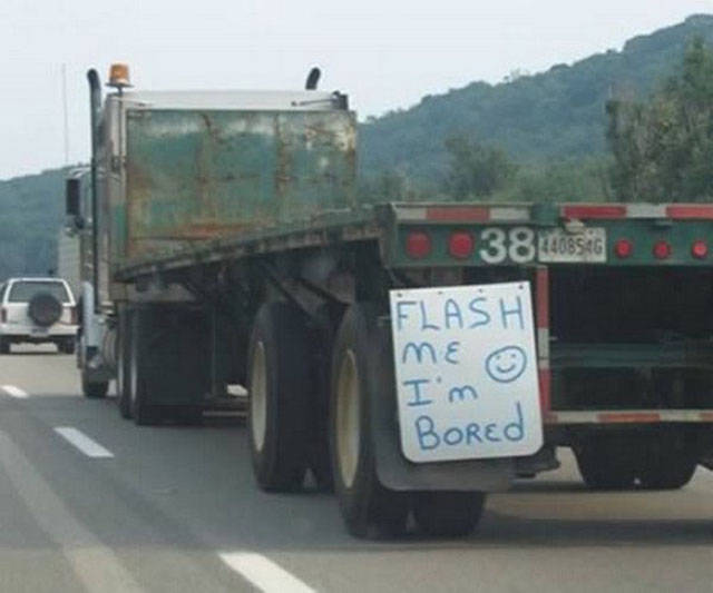 These Truck Drivers Surely Have An Exquisite Sense Of Humor