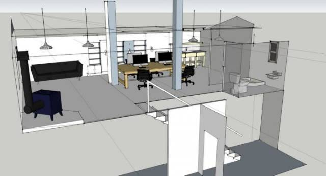 Old Barn? No, It's A Fully-Functioning Office!
