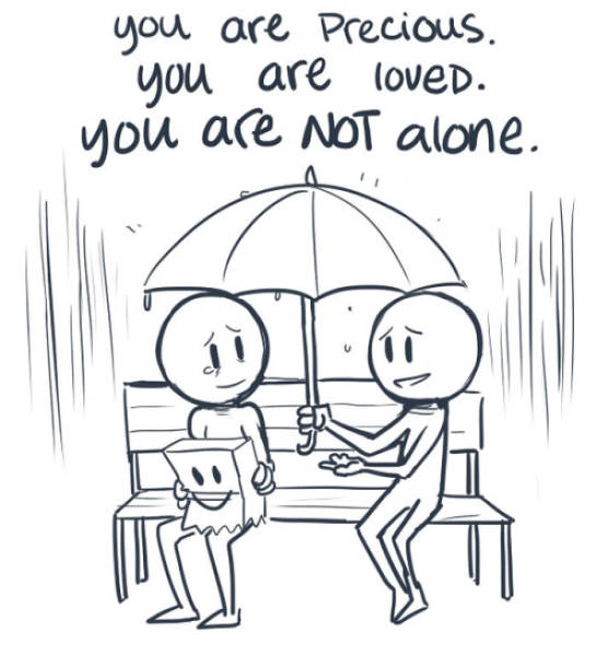 The Most Inspiring Comic That Makes You Believe Depression Is Not That Bad