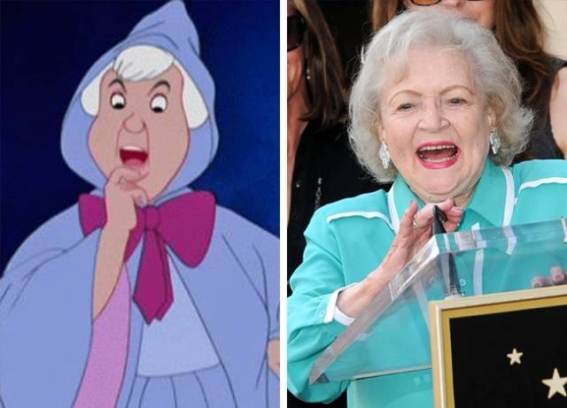 Many Disney Characters Actually Have Their Real-Life Celebrity Prototypes!