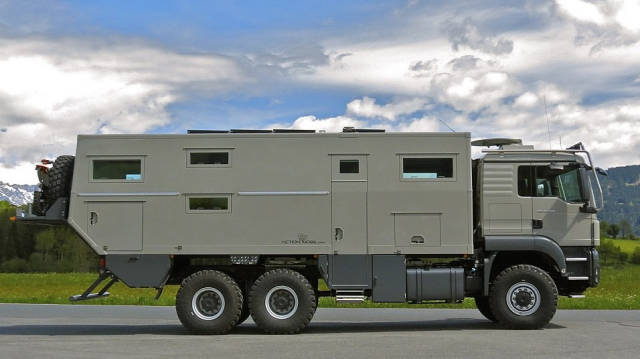 Rich Men Found Something New To Invest In – Armored Mobile Homes