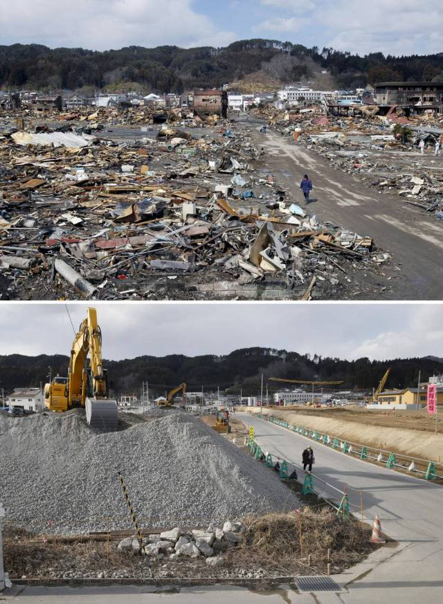 The Proportions Of Destruction Caused By Japan's 2011 Disasters